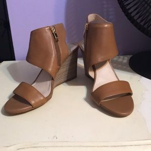 Vince Camuto Leather Wedge heels